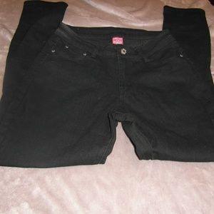 Denim - Black highwaist jeans sz 11/12